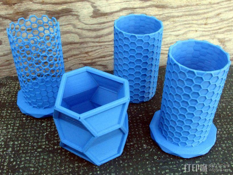 纳米管形容器模型 3D模型  图1