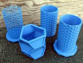 纳米管形容器模型 3D模型