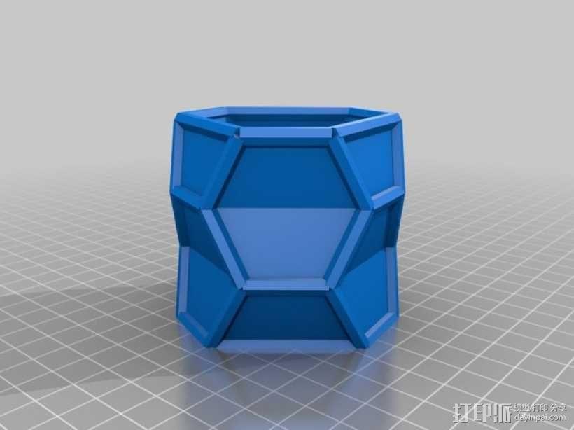 纳米管形容器模型 3D模型  图2