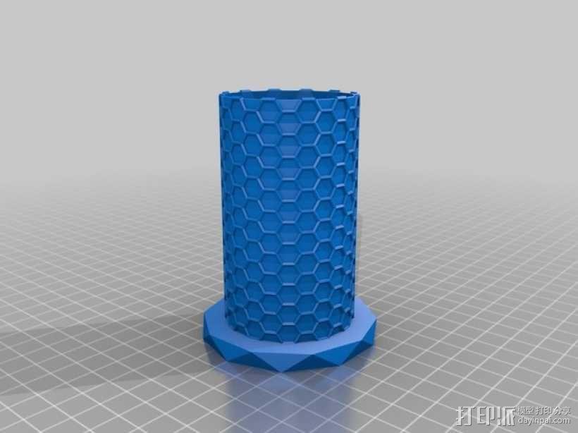 纳米管形容器模型 3D模型  图5