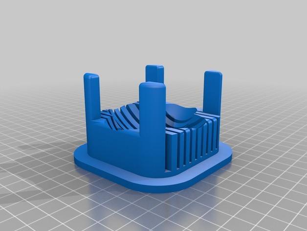 鸡蛋分切器模型 3D模型  图3