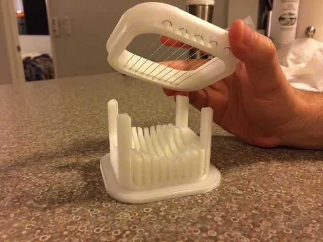 鸡蛋分切器模型 3D模型  图2