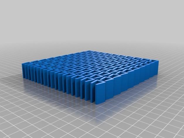 可延展的鞋柜模型 3D模型  图2