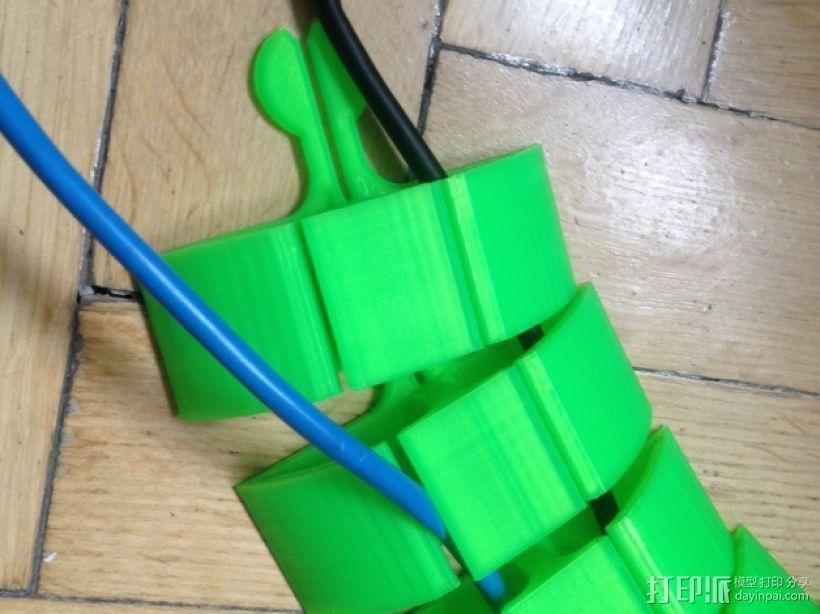 模块化电缆保护套模型 3D模型  图1