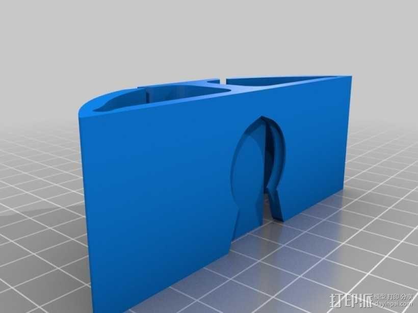 模块化电缆保护套模型 3D模型  图4