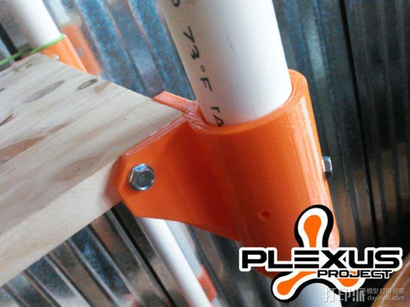 PLEXUS 1角架模型 3D模型  图1