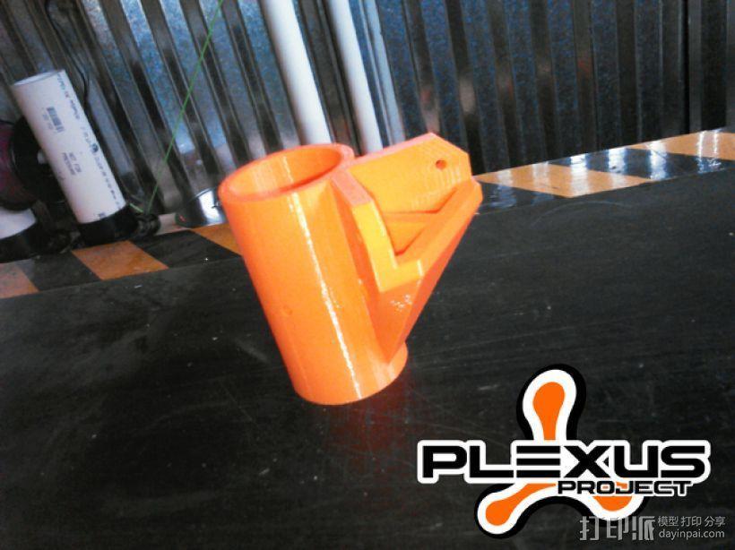PLEXUS 1角架模型 3D模型  图3
