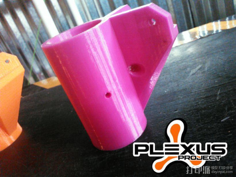 PLEXUS 1角架模型 3D模型  图5