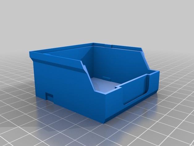 迷你螺丝螺帽盒模型 3D模型  图7
