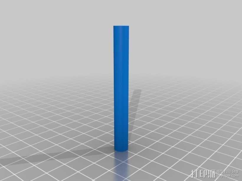 水滴形鸟笼模型 3D模型  图3