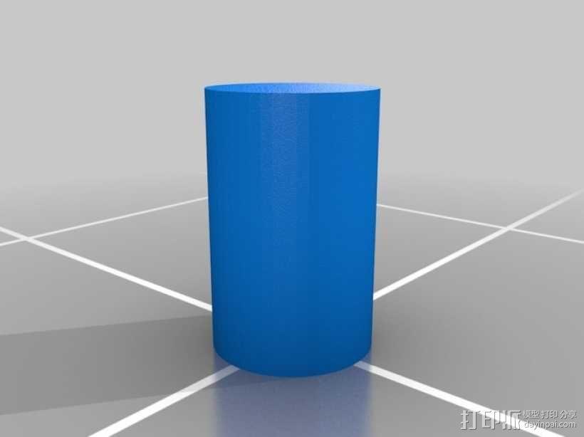 水滴形鸟笼模型 3D模型  图5