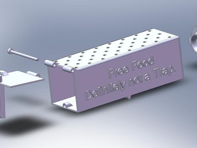 简易捕鼠器模型 3D模型  图9