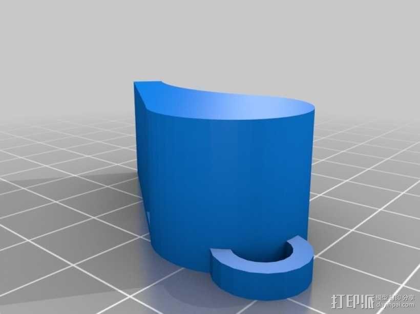 经典口哨模型 3D模型  图2