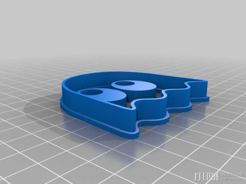 吃豆人饼干切割刀模型 3D模型  图5