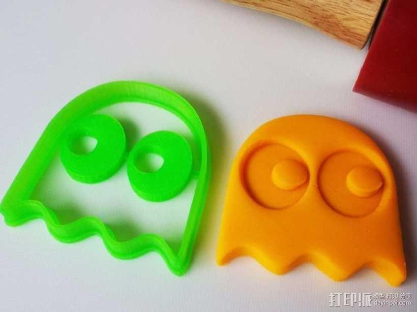 吃豆人饼干切割刀模型 3D模型  图9