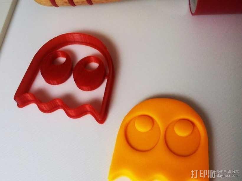 吃豆人饼干切割刀模型 3D模型  图8