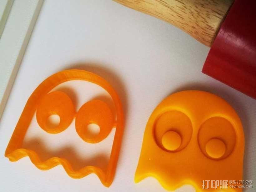 吃豆人饼干切割刀模型 3D模型  图7