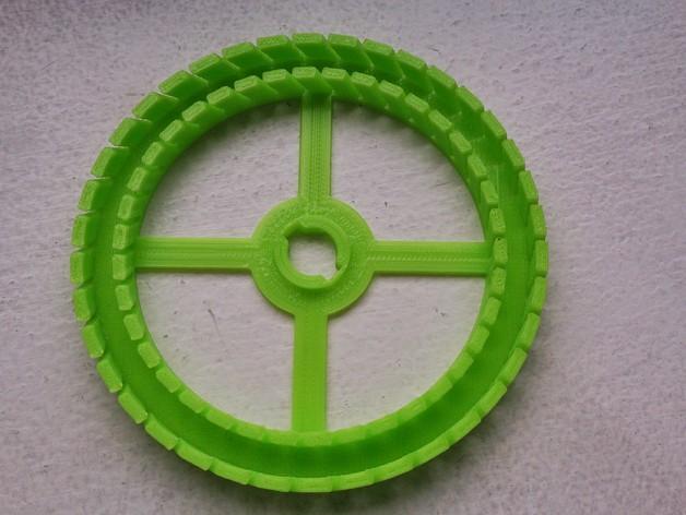 圆形名片夹模型 3D模型  图4