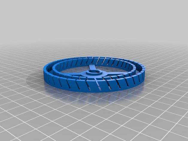 圆形名片夹模型 3D模型  图3