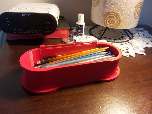 迷你铅笔盒模型 3D模型  图2