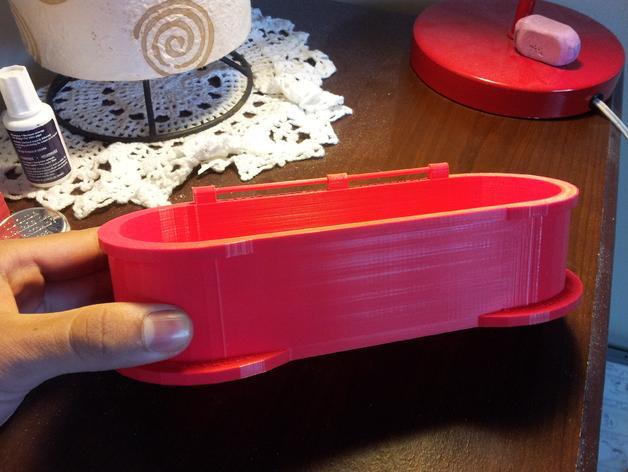 迷你铅笔盒模型 3D模型  图3