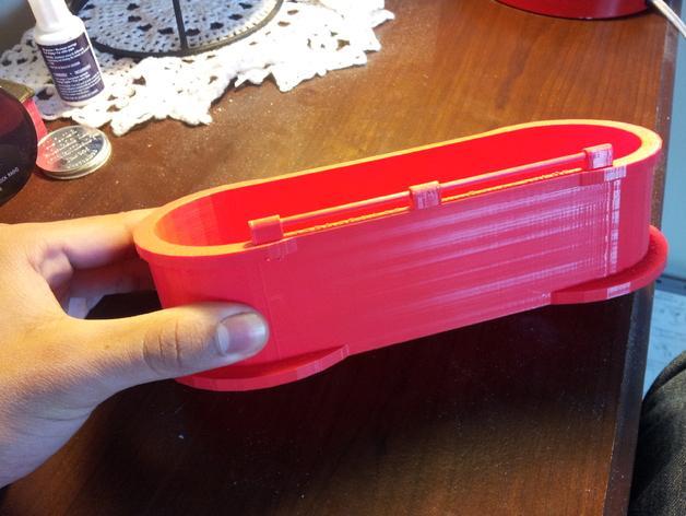 迷你铅笔盒模型 3D模型  图4