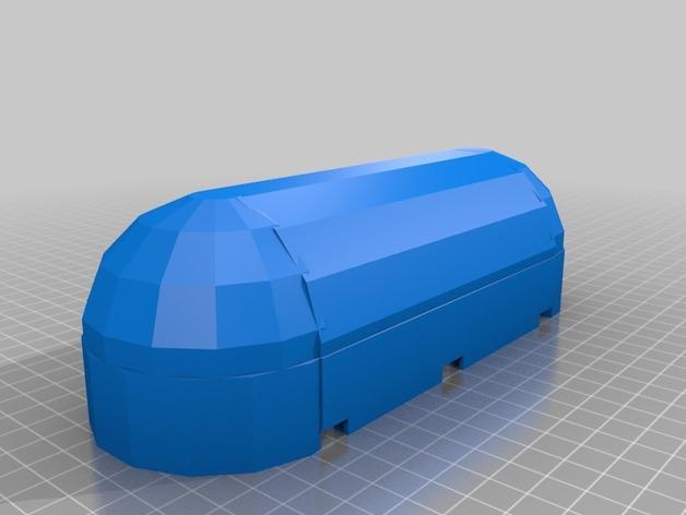 迷你铅笔盒模型 3D模型  图5