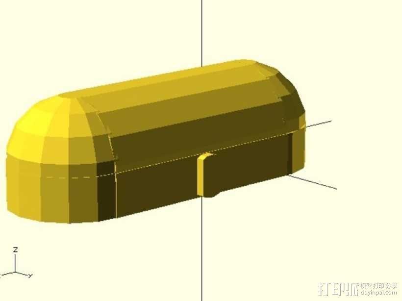 迷你铅笔盒模型 3D模型  图7