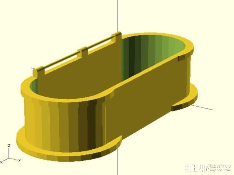 迷你铅笔盒模型 3D模型  图8