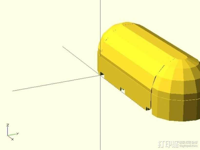 迷你铅笔盒模型 3D模型  图9