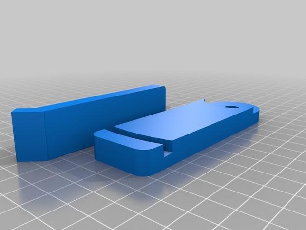 莫比乌斯带状钟面模型 3D模型  图2