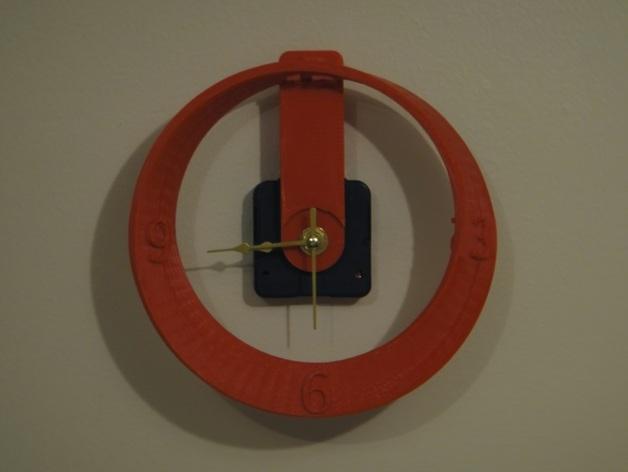 莫比乌斯带状钟面模型 3D模型  图6