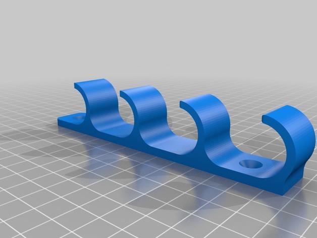 白板笔架模型 3D模型  图2