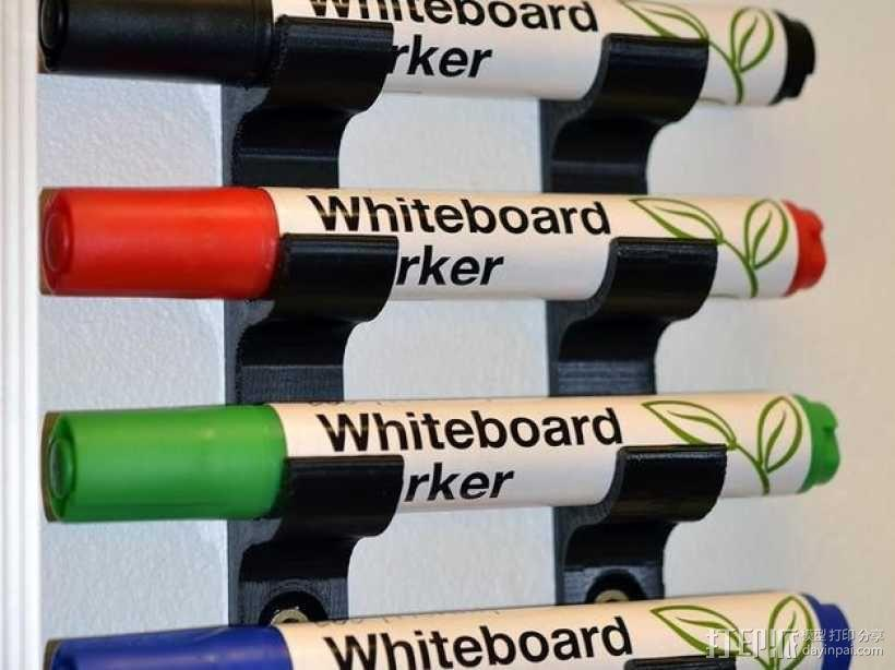 白板笔架模型 3D模型  图1