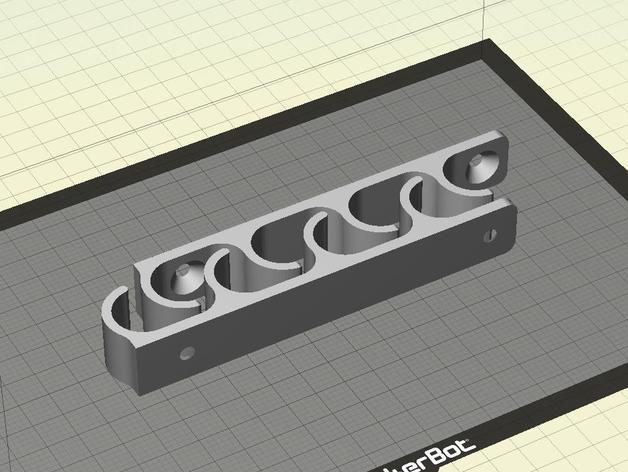 白板笔架模型 3D模型  图5