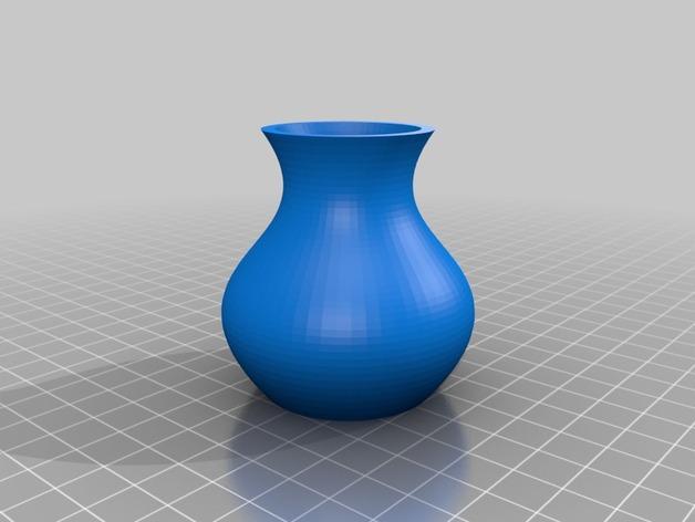 定制化贝塞尔花瓶模型 3D模型  图3