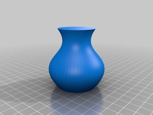 定制化贝塞尔花瓶模型 3D模型  图4