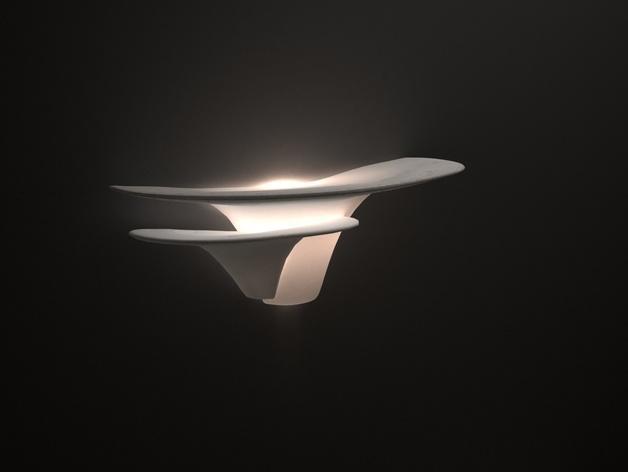 迷你蘑菇灯模型 3D模型  图1