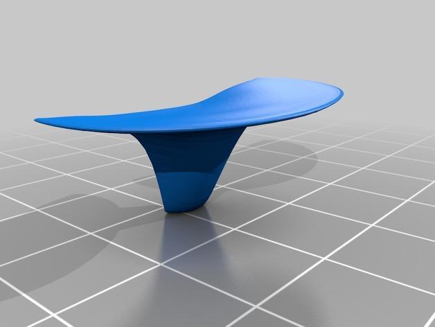 迷你蘑菇灯模型 3D模型  图2