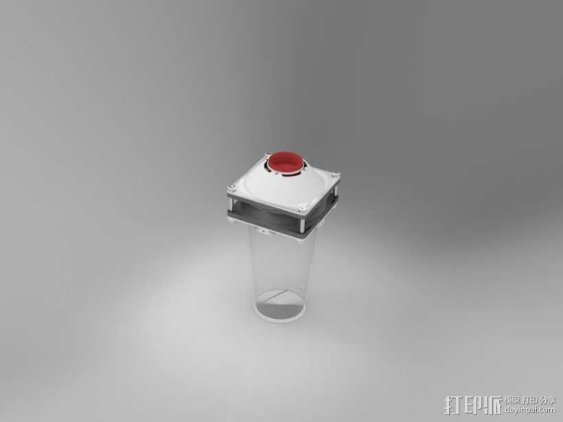 迷你捕蝇器模型 3D模型  图2