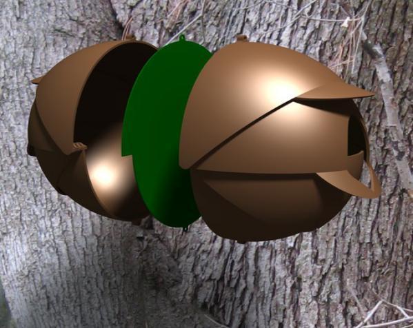 内嵌式鸟笼模型 3D模型  图9