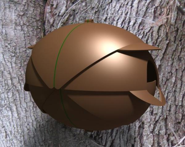 内嵌式鸟笼模型 3D模型  图10