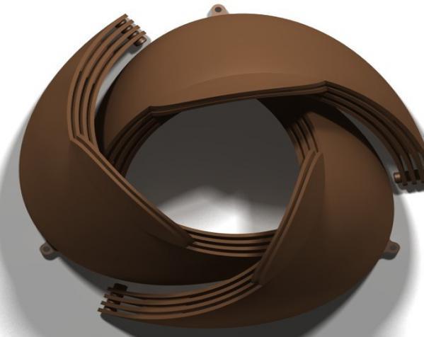 内嵌式鸟笼模型 3D模型  图17