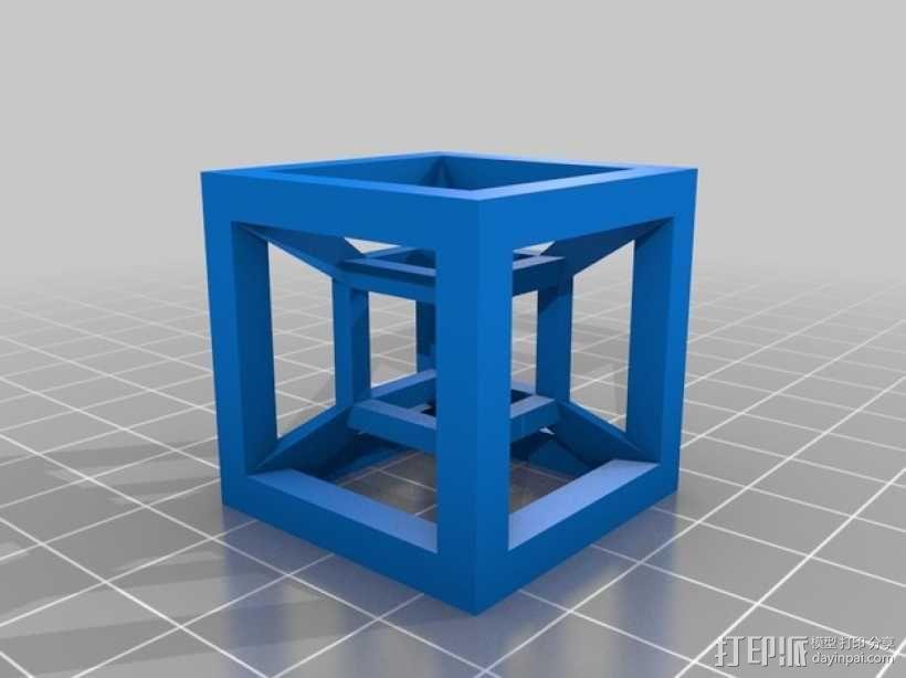 桌面摆设小玩意 -- 立方体 3D模型  图4