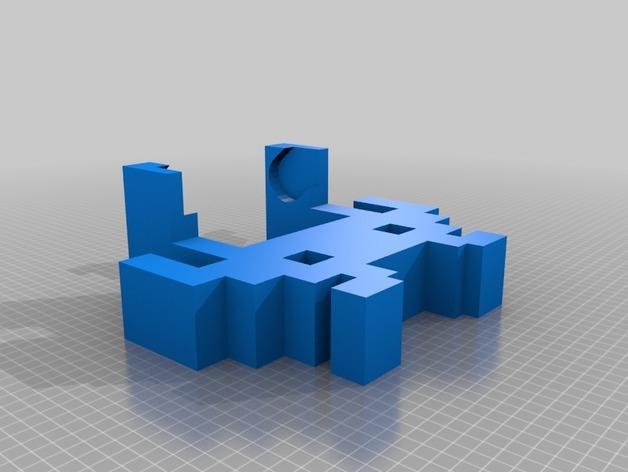 迷你实用卫生纸架模型 3D模型  图2