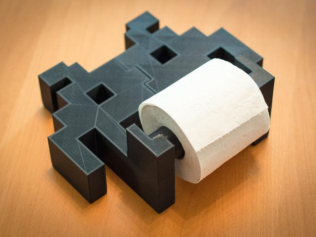 迷你实用卫生纸架模型 3D模型  图6