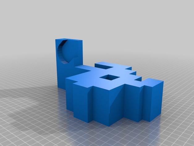 迷你实用卫生纸架模型 3D模型  图4