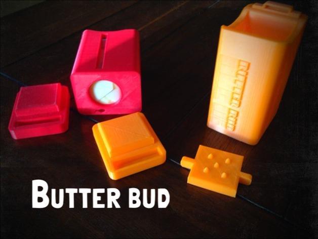 黄油分割刀/容器模型 3D模型  图2