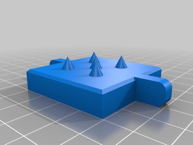 黄油分割刀/容器模型 3D模型  图3
