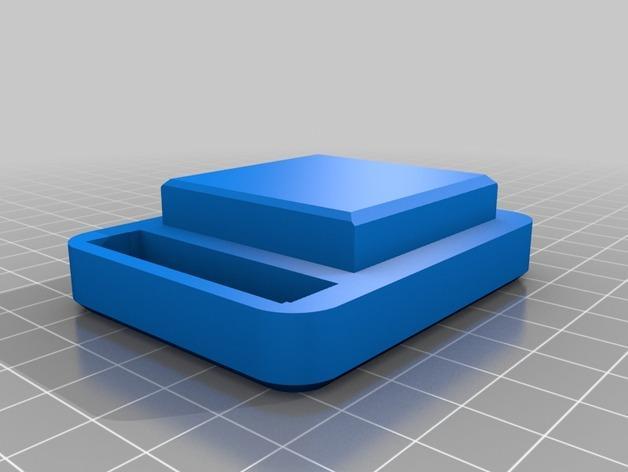 黄油分割刀/容器模型 3D模型  图4